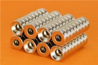 Strong N52 Round Countersunk Neodymium Mounting Magnets for Sale
