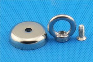 round rectangular neodymium mounting magnets power