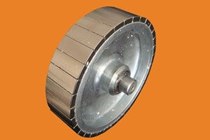 Custom high accuracy permanent magnet rotor and stator in motor