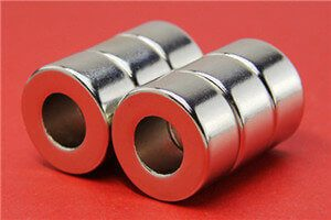 custom large neodymium ceramic ring magnets for sale