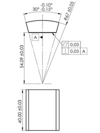 price request - Segment magnet from China Magnets Source
