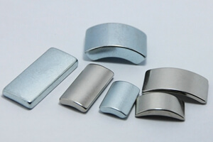 arc segment magnets for motors