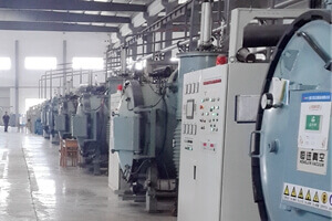 magnet manufacturers sintering furnace making raw material for permanent magnets