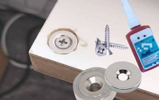 How to Embedding Magnets in Wood by Glue and Screw