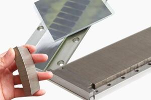 Magnet stack component for sensor