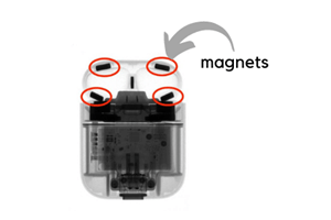 Tiny Strong Neodymium Magnets in AirPods